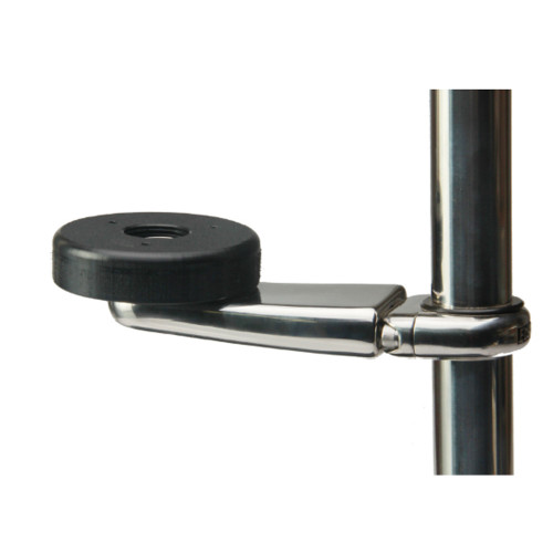 "Edson Stainless GPS Mount 3"" Mounting Base 1-1.25"" Rail [830ST-3-100-125]"
