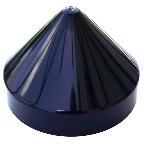 "Monarch Black Cone Piling Cap - 13.5"" [BCPC-13.5]"