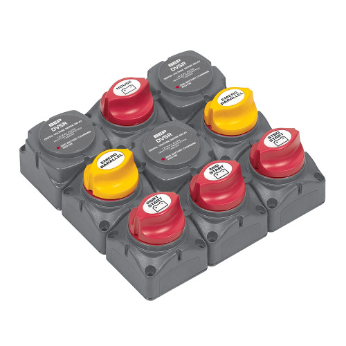 BEP Battery Distribution Cluster f\/Triple Outboard Engine w\/Four Battery Banks [719-140A-DVSR]