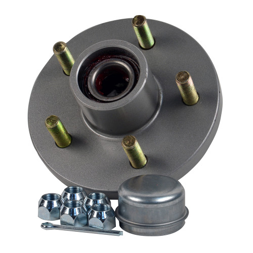 "C.E. Smith Trailer Hub Kit - 1-3\/8"" x 1-1\/16"" Tapered - 5 x 4-1\/2"" Galvanized [13515]"