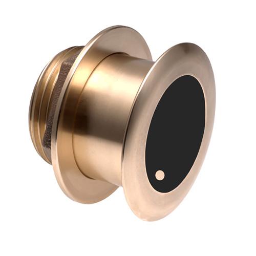 Airmar B164 Bronze Thru-Hull Transducer w\/Humminbird #9 Plug - 7-Pin - 12 [B164-12-HB]