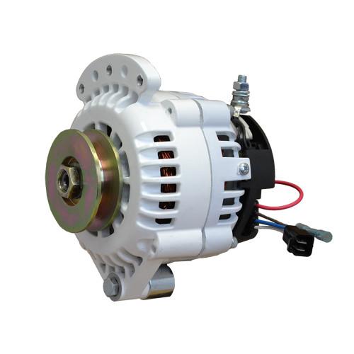 Balmar 621 Series Alternator - Spindle Mount(Single Foot) - 100A - 12V [621-100-SV]