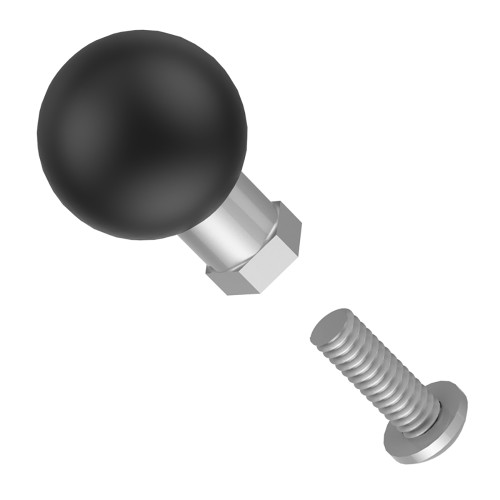 "RAM Mount B Size Ball Add-On for 1.5""  2"" Torque Bases [RAM-B-337-1U]"
