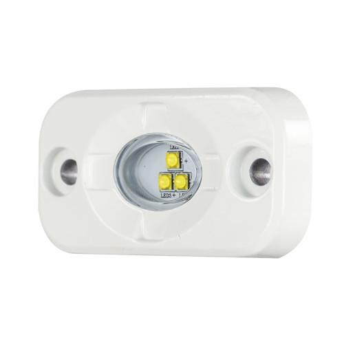 "HEISE Marine Auxiliary Accent Lighting Pod - 1.5"" x 3"" - White\/White [HE-ML1]"