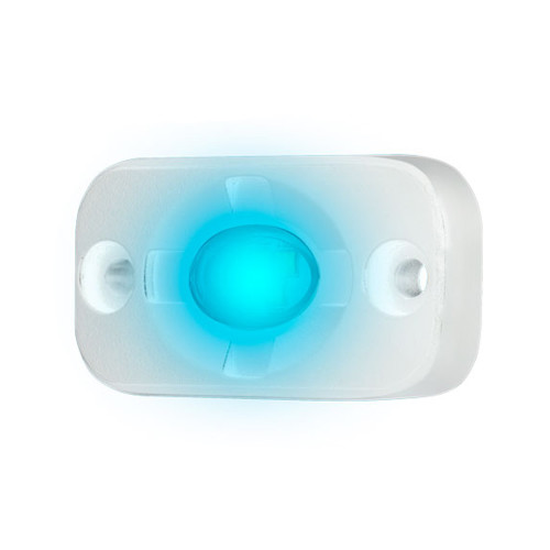 "HEISE Marine Auxiliary Accent Lighting Pod - 1.5"" x 3"" - White\/Blue [HE-ML1B]"