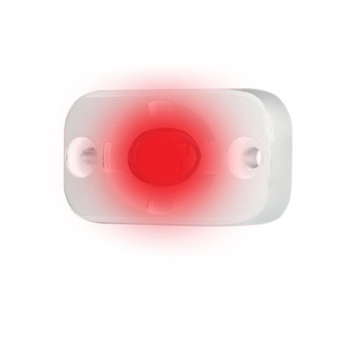 """HEISE Marine Auxiliary Accent Lighting Pod - 1.5"""" x 3"""" - White\/Red [HE-ML1R]"""