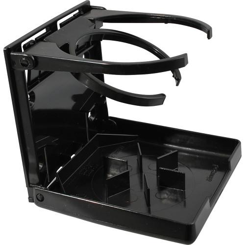 Attwood Fold-Up Drink Holder - Dual Ring - Black [2445-7]