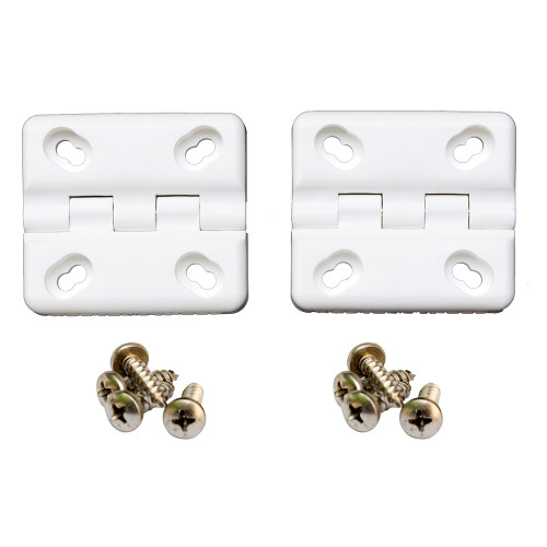 Cooler Shield Replacement Hinge f\/Coleman  Rubbermaid Coolers - 2 Pack [CA76312]