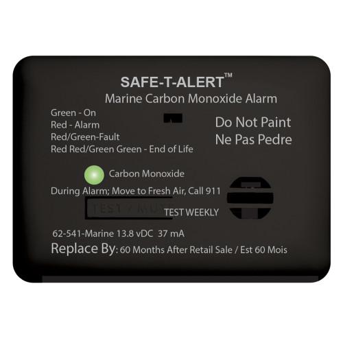 Safe-T-Alert 62 Series Carbon Monoxide Alarm w\/Relay - 12V - 62-541-R-Marine - Surface Mount - Black [62-541-R-MARINE-BL]