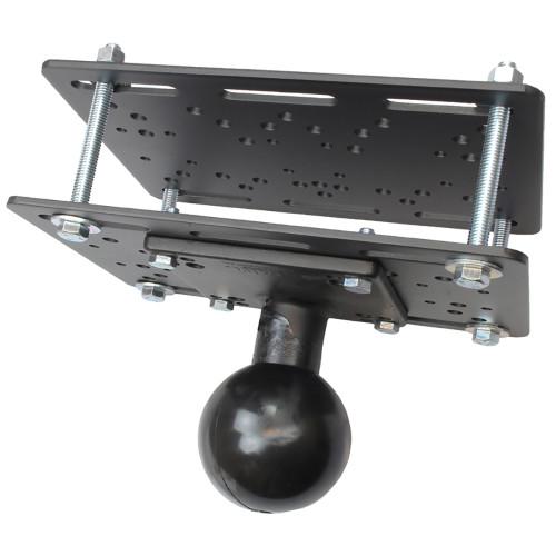"""RAM Mount Forklift Overhead Guard Plate w\/E Size 3.38"""" Ball [RAM-335-E-246]"""