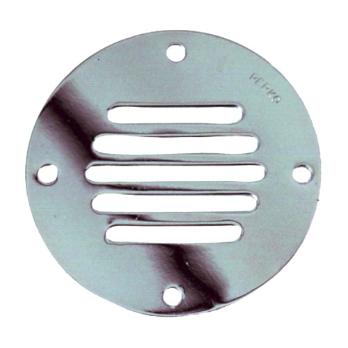 "Perko Chrome Plated Brass Round Locker Ventilator - 2-1\/2"" [0330DP1CHR]"