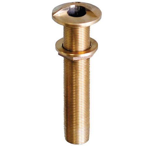 "GROCO 3\/4"" Bronze Extra Long High Speed Thru-Hull Fitting w\/Nut [HSTHXL-750-W]"