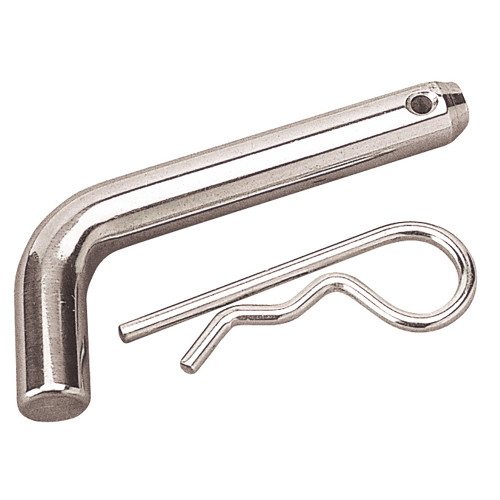 Sea-Dog Zinc Plated Steel Receiver Pin w\/Clip [751062-1]