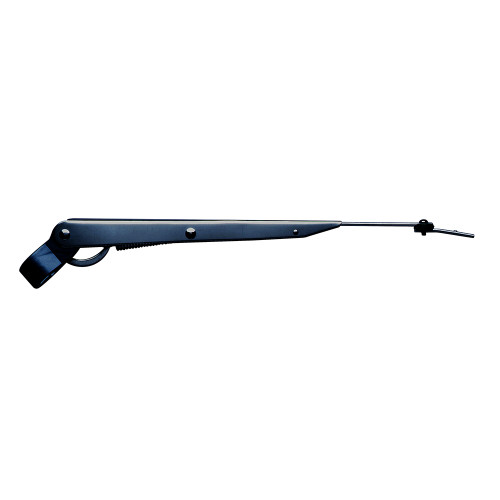 """Marinco Wiper Arm Deluxe Stainless Steel - Black - Single - 14""""-20"""" [33014A]"""