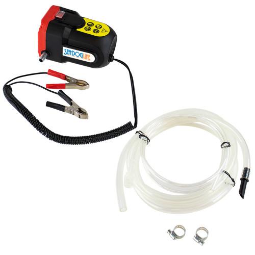 Sea-Dog Oil Change Pump w\/Battery Clips - 12V [501072-3]