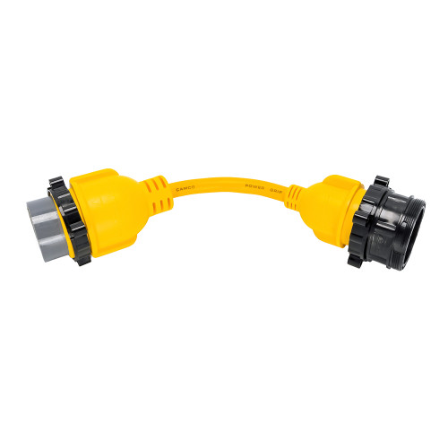 "Camco 50AM\/30AF Power Grip Marine 12"" Locking Adapter - M-Lock\/F-Locking Adapter [55625]"