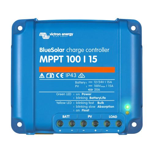 Victron BlueSolar MPPT Charge Controller - 100V - 15AMP [SCC010015200R]