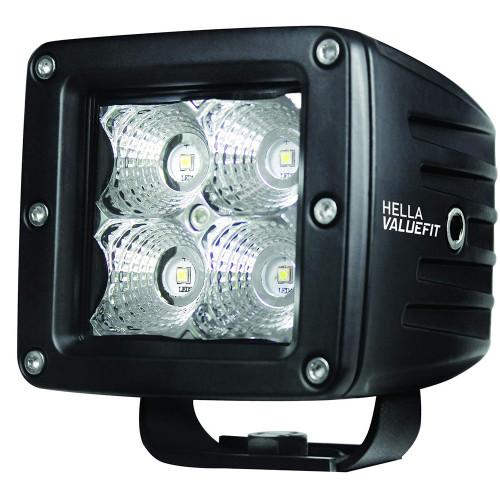 Hella Marine Value Fit LED 4 Cube Flood Light - Black [357204031]