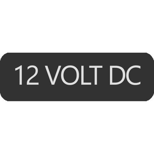Blue Sea 8063-0005 Large Format 12 Volt DC Label [8063-0005]