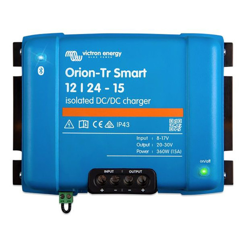 Victron Orion-TR Smart DC-DC 12\/24-15 15A (360W) Isolated Charger or Power Supply [ORI122436120]