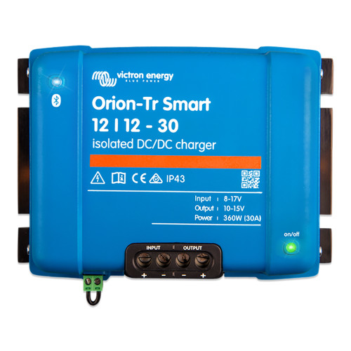 Victron Orion-TR Smart 12\/12-30 30A (360W) Isolated DC-DC or Power Supply [ORI121236120]