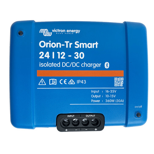Victron Energy Orion-TR Smart 24\/12-30 30A (360W) Isolated DC-DC or Power Supply [ORI241236120]