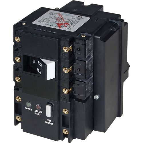 Blue Sea C-Series ELCI Main Circuit Breaker - 120\/240V AC 50A [3104]
