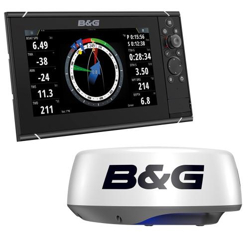 """BG Zeus3S 9 - 9"""" MFD Bundle w\/HALO20+ Radar [000-15561-001]"""