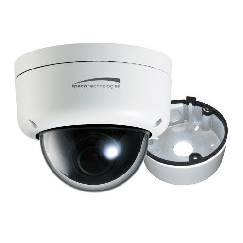 Speco 2MP Ultra Intesifier IP Dome Camera 3.6mm Lens - White Housing w\/Removable Black Cover  Included Junction Box [O2ID8]