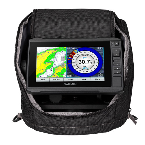 Garmin ECHOMAP UHD 73cv Ice Fishing Bundle w\/GT10HN-IF Transducer [010-02334-15]
