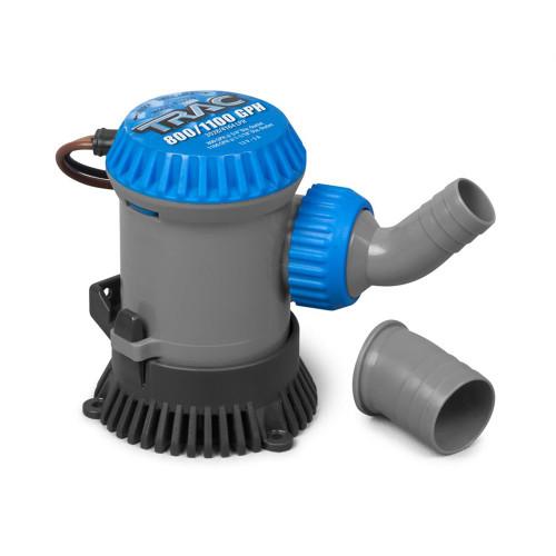 "TRAC Bilge Pump - 800\/100GPH - 3\/4""  1-1\/8"" Outlets [69301]"