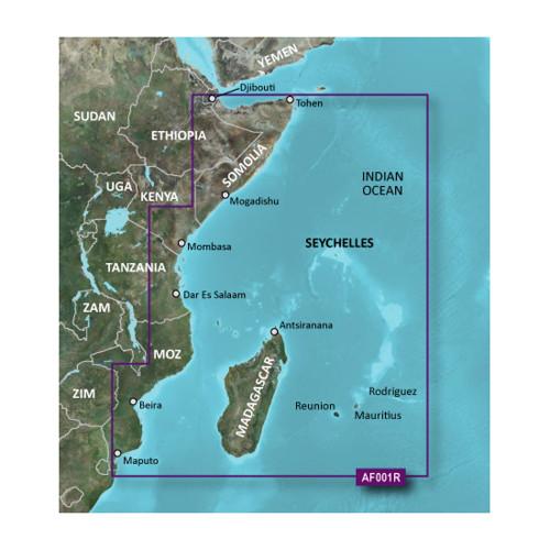 Garmin BlueChart g2 HD - HXAF001R - Eastern Africa - microSD\/SD [010-C0747-20]