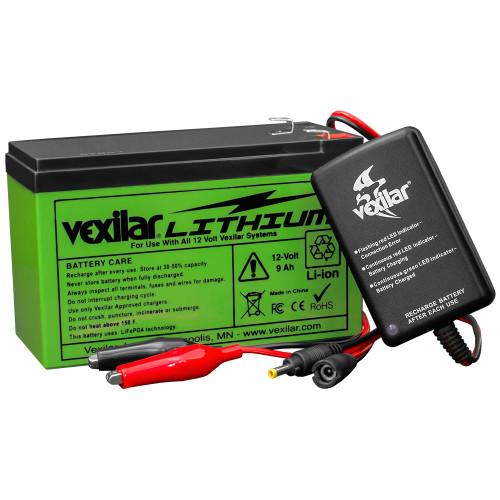 Vexilar 12V Lithium Ion Battery  Charger [V-120L]