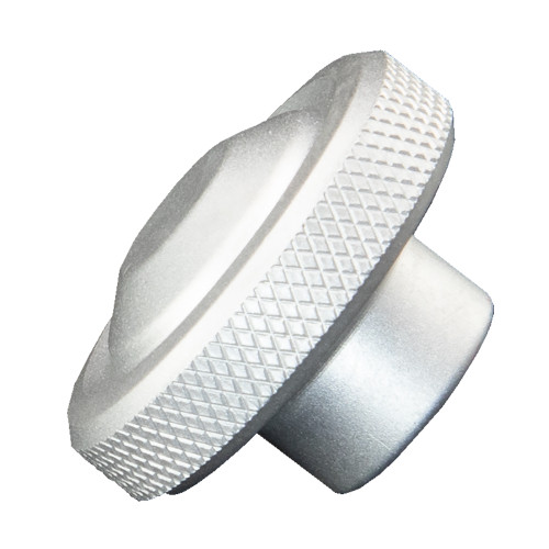 PTM Edge KNB - 100 Replacement Knob - Electrobrite Silver [P12682-58]