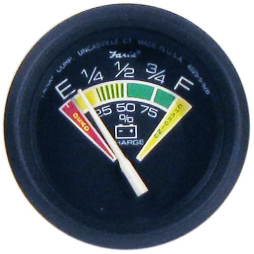 """Faria Euro 2"""" Battery Condition Indicator - E to F [12823]"""