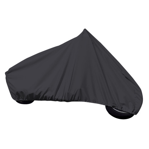 Carver Sun-Dura Motorcycle Cruiser w\/No\/Low Windshield Cover - Black [9000S-02]