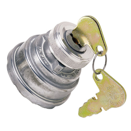 Cole Hersee 3-Position Heavy-Duty Ignition Switch [956-3126-BP]