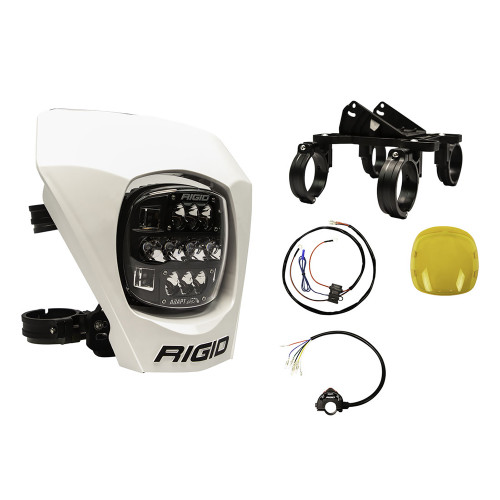 RIGID Industries Adapt XE Extreme Enduro LED Moto Kit - White [300417]