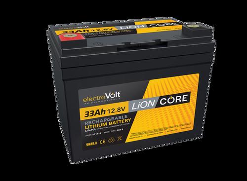 LiONCore 33Ah 12.8v Li-ion Battery