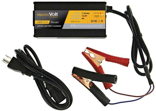 eVC 12-6 Li-ion LiFePO4 Battery Charger