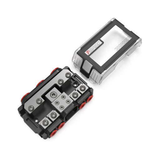 T-Spec VPNB4 MANL 4 Position All-In-One Distribution Block w\/Cover [VPNB4]