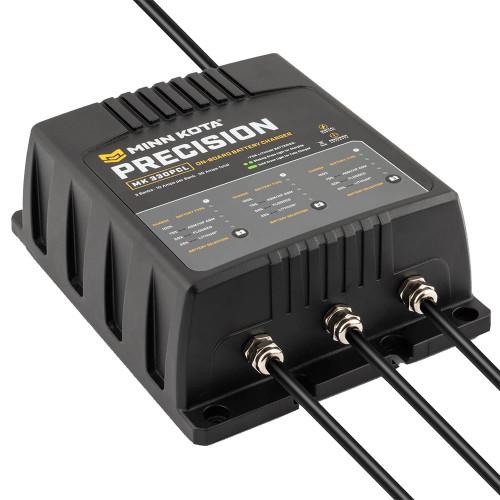 Minn Kota On-Board Precision Charger MK-330 PCL 3 Bank x 10 AMP LI Optimized Charger [1833301]