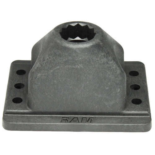 RAM Mount RAM Rod 2000 Deck & Track Base [RAM-114DTM5]
