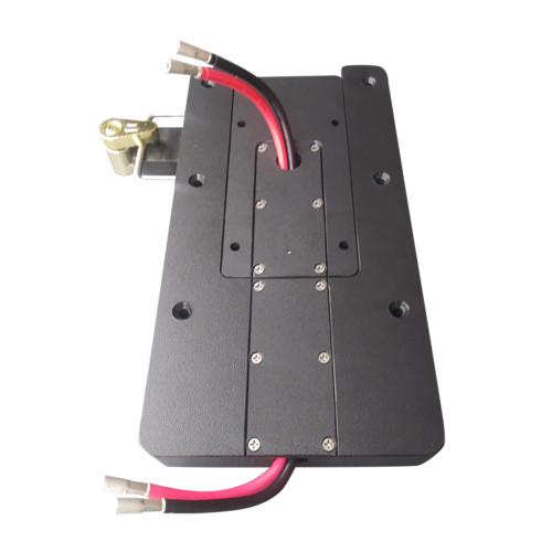 Power Pux Port Side Quick Release Bracket - Black [CMP-KIT-PRT-BLK]
