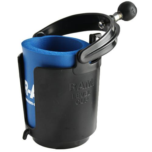 "RAM Mount Drink Cup Holder w\/1"" Ball [RAM-B-132BU]"