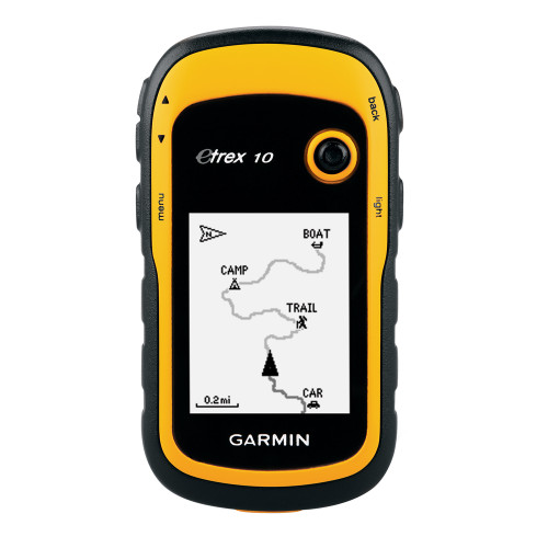Garmin eTrex 10 Handheld GPS [010-00970-00]