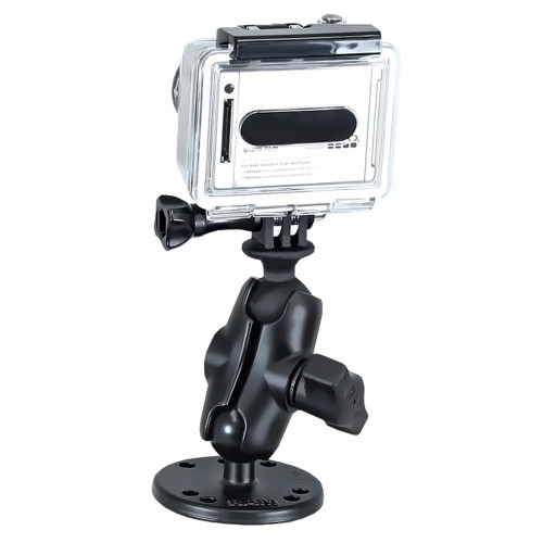 RAM Mount GoPro Hero Short Arm Flat Surface Mount [RAM-B-138-A-GOP1U]