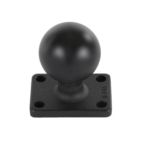 "RAM Mount 1.5"" x 2"" Rectangle Base w\/1.5"" Ball [RAM-202U-152]"