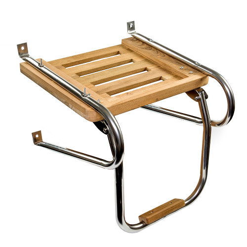 Whitecap Teak Swim Platform w\/Ladder f\/Inboard\/Outboard Motors [60903]