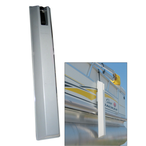 "Dock Edge 'TOON Pontoon Boat Fender - 36"" - Grey [53-135-F]"